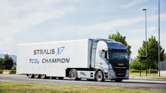 IVECO har undertegnet en avtale med den europeiske logistikkgruppen om levering av 610 Stralis XP (bilden) og XP.