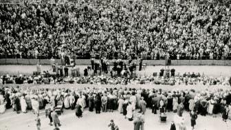 Alsang i Frederiksberg Have 1940
