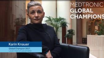 Karin Knauer - förra årets Global Champion