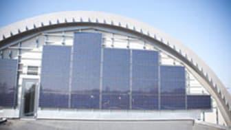 """Klagshamns avloppsreningsverk prisas som """"Årets Solcellsanläggning"""""""