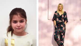 Till vänster: Dior, Hello World!-deltagare Till höger: Vanja Tufvesson, medgrundare Pink Programming