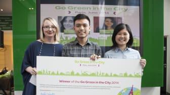 """Schneider Electric presenterar de 100 bästa studentlagen i tävlingen """"Go Green in the City"""""""