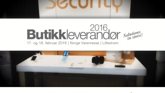 Gate Security på Butikkleverandør 2016 i Lillestrøm, Norge