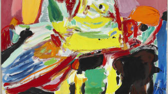 """Asger Jorn: """"Quand la lumière se fait"""" (1969). Estimate: DKK 2-2.5 mill. / € 270,000-335,000"""