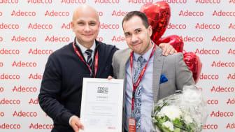 Adecco Finland Oy:n toimitusjohtaja Jukka-Pekka Annala allekirjoitti työsopimuksen Suomen CEO for One Month 2017 Joshua Moorreesin kanssa. Moorrees valittiin tehtävään lähes 700 kandidaatin joukosta.