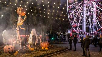 Halloween i Tivoli Friheden slår rekord: 35.000 besøgende