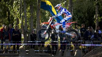 Dags för motorfest i Skövde när en deltävling i VM i enduro avgörs i juli. Foto: Tobias Andersson/Next Skövde