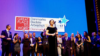 Scandic Hotels utsett till bästa arbetplats i Danmark