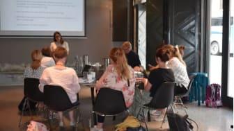 I forrige uke var det kurs i BREEAM Community-systemet. Flere utviklere har i det siste kontaktet NGBC og vist interesse. Her fra kurset i forrige uke med Oddrun Helen Hagen og Anders Nohre -Wallden i spissen.