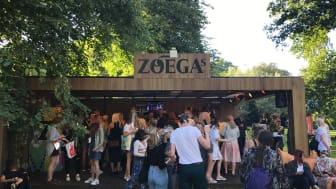 Zoégas för en skräpfri festival