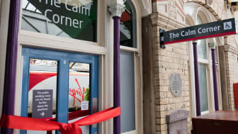 Virgin Trains new Calm Corner at Crewe station
