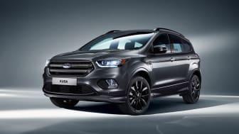 Ford viser ny sportslig Kuga med SYNC 3