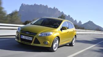 Ford lanserer 14 drivstoffeffektive modeller i år  –  alle best i sin klasse.