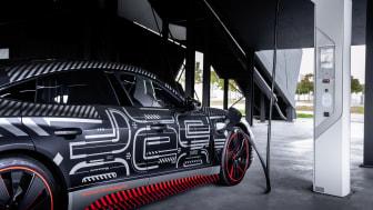 Audi e-tron GT concept (camouflage)