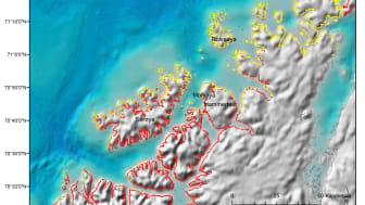 Kråkeboller/tareskog/sårbarhet for oljesøl: modellert sårbarhet i strandsonen