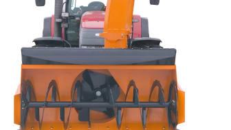 OPTIMAL snöfräs 2650HD med högt utkastarrör