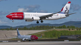 God passasjervekst for Norwegian i oktober