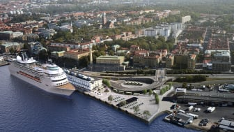 This historic quay is now being resurrected as a cruise reception centre under the name America Cruise Terminal.