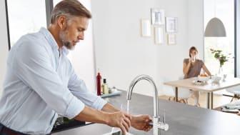 Hållbart vattensystem: GROHE Blue nominerad i German Sustainability Award Design 2021
