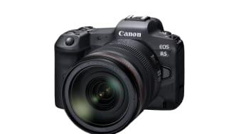 Canon meddelar att EOS R5 är under utveckling – en kompakt systemkamera i fullformat som bygger på det revolutionerande EOS R-systemet.