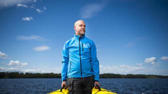 Magnus Christoffersson tog över Frykenbadens Camping för tre år sedan. Foto: Fredrik Karlsson/Bildbyrån