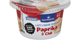Norrmejerier Lätt Créme Fraiche Paprika & Chili.png