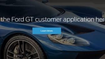 Ford GT application - UK