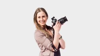 Linda Grönlund grundare av Fair Photo Agency. Foto: Johanna Herbst