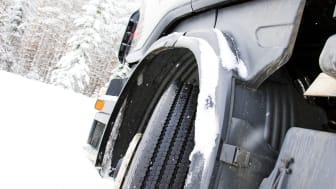 Vinterdæk på lastbiler