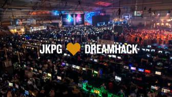 Ett treårigt projekt ska stärka samarbetet mellan Jönköping och DreamHack