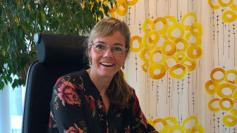 Susanna Bernéli arbetar som bostadsrättsekonom på BoKlok i Malmö