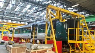 London Northwestern Railway - Class 730 Exterior - Bombardier production line