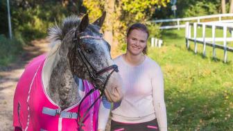 Zophie Juhlin är årets ungdomsledare. Foto: Svenska Ridsportförbundet