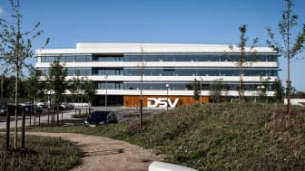 Out of 47,000 employees DSV-wide, approximately 2,000 are employed in Denmark - many of them at headquarters in Hedehusene, pictured here.