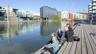 Lindholmen/Citylab. Foto: Älvstranden Utveckling, Pia Nyström