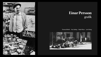 Lindesbergs Konstförening bjuder in till kväll kring konstnären Einar Persson