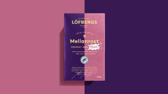Löfbergs nyhet är mindre syrlig och passar därför extra bra för alla som har mjölk i sitt kaffe.