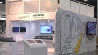 Hitachi Rail Italy and Ansaldo STS jointly exhibiting at APTA