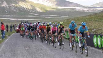 Årets første Grand Tour, Giro d'Italia, bliver sendt eksklusivt på Discoverys kanaler og kan i år ses på Kanal 5, Eurosport 1 og Eurosport Player. Foto: Getty Images