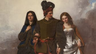 """""""The Cruel Sister"""" by John Faed (1850). There will be a reinterpretation of this painting for 60/50."""