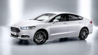 Nye Ford Mondeo i  bensin-elektrisk hybridversjon