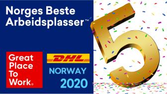 DHL Express – Norges 5. beste arbeidsplass!