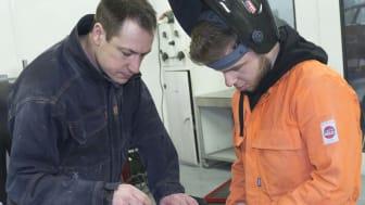 Apprentices in Action -  welding