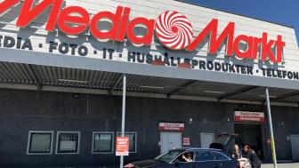 MediaMarkt lanserar drive-in-leverans i samtliga varuhus