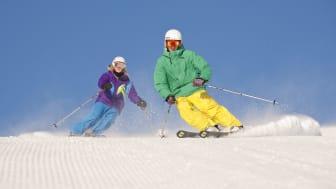 Rekordbra försäsong för skidåkning i fjällen