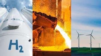 Linde och Ovako om stålindustrin som pådrivare av vätgassamhället i Sverige