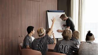 Over 1100 trenere og lagledere har blitt medlem av Scandic Sports