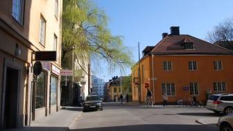 Sommarbild tagen vid Mariatorget i Stockholm. Foto: Mostphotos