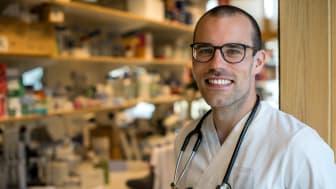 Andreas Edsfeldt belönas för sin banbrytande forskning inom hjärt- kärlsjukdomar som komplikationer hos patienter med diabetes. FOTO:Erik Lindblad