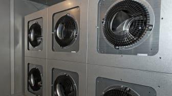 Fläktväggar hjälper Akademiska Hus i jakten på säker ventilation och energismarta lösningar